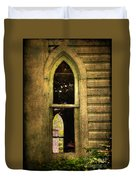 Church Window Church Bell Duvet Cover