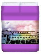 Churchill Downs Silk Duvet Cover