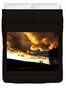 Churning Clouds 1 Duvet Cover