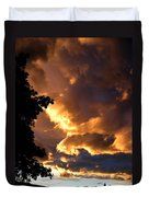 Churning Clouds 2 Duvet Cover