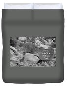Cibola National Forest Duvet Cover