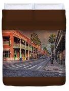 Cigar City Duvet Cover