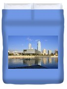 Cigar City Rowing Duvet Cover