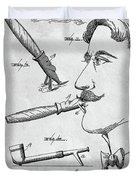 Cigar Holder  Duvet Cover