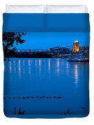 Cincinnati Belle Suspension Bridge Duvet Cover