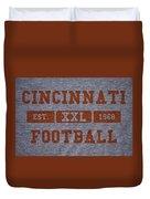 Cincinnati Bengals Retro Shirt Duvet Cover