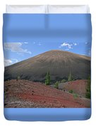 Cinder Cone And Painted Sands Duvet Cover