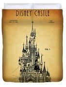 Cinderella Castle Patent Duvet Cover