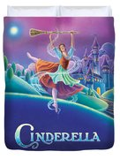 Cinderella Poster Duvet Cover by Anne Wertheim