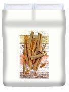 Cinnamon Bark Duvet Cover