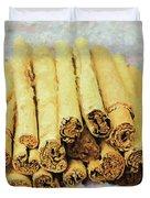 Cinnamon Sticks Duvet Cover