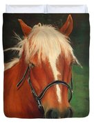 Cinnamon The Horse Duvet Cover