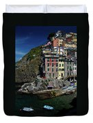 Cinque Terre Northern Italy Duvet Cover
