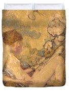 Circe And Anatol 1926 Duvet Cover