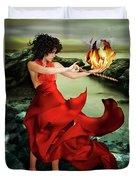 Circe, Greek Mythological Goddess Duvet Cover