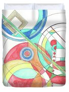 Circle Game Duvet Cover