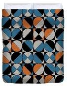 Circle Grid Duvet Cover