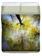 Circle Of Trees Duvet Cover