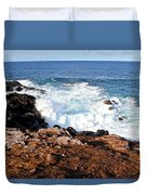 Circle Of Waves  Duvet Cover