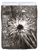 Circle Top Of Joshua Tree Duvet Cover