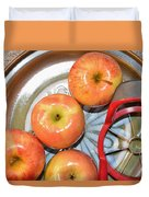 Circles 1 - Apples Duvet Cover