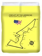 Circuit Of The Americas Duvet Cover