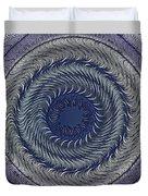 Circular Abstract 9 Duvet Cover