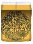 Circular Artwork Duvet Cover