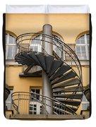 Circular Staircase Duvet Cover