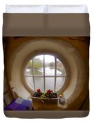Circular Window Duvet Cover