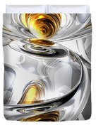 Circumvoluted Abstract Duvet Cover