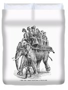 Circus: Elephant, C1901 Duvet Cover