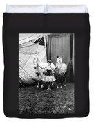 Circus: Rider, C1904 Duvet Cover