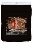 Circus Wagon Duvet Cover