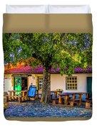 Citadel Cafe Duvet Cover