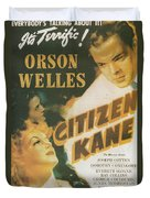 Citizen Kane - Orson Welles Duvet Cover