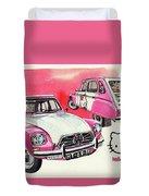 Citroen Dyane Hello Kitty Duvet Cover