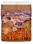 City - Arizona - Grand Canyon - Kabob Trail Duvet Cover