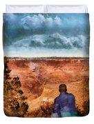 City - Arizona - Grand Canyon - The Vista Duvet Cover
