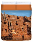 City - Arizona - Pueblo Duvet Cover
