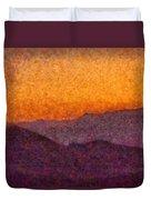 City - Arizona - Rolling Hills Duvet Cover