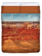 City - Arizona - The Grand Canyon Duvet Cover by Mike Savad