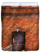 City - Door - The Back Door  Duvet Cover