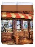 City - Ny 77 Water Street - Candy Store Duvet Cover