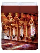 City - Vegas - Excalibur - In The Great Hall  Duvet Cover