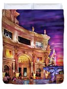 City - Vegas - Mirage - The Entrance Duvet Cover