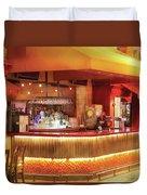 City - Vegas - Ny - The City Bar Duvet Cover