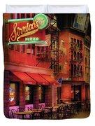City - Vegas - The Pizza Joint Duvet Cover