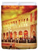City - Vegas - Venetian - Life At The Palazzo Duvet Cover