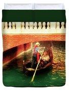 City - Vegas - Venetian - That's Amore Duvet Cover